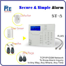 The latest IE Web Manage Mobine/Ipad/Monitor Home Security System