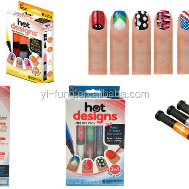 2 Color Nail Polish Designsyuanwenjun