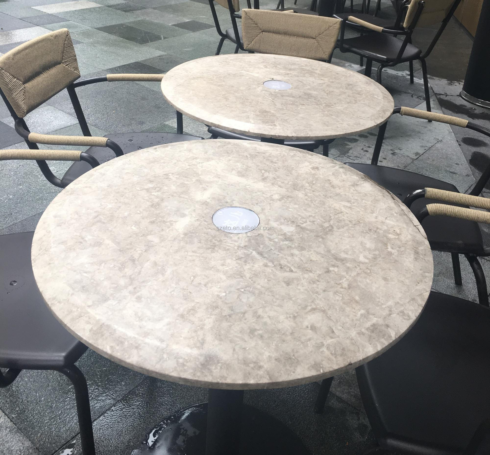 Beau Sf006 Round Travertine Stone Table Top   Buy Marble Coffee Table Top,Marble  Top Center Table Design,Round Travertine Stone Table Top Product On ...