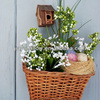 Handmade Linyi Willow Home Deco Basket