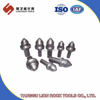 Round Shank Bits/Conical construction tool rotary cutter pick round shank chisel betek teeth auger bit