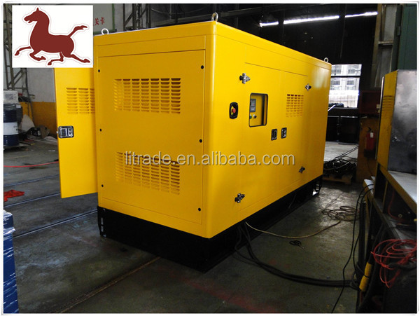 Silent Type Quarry Power Supply 300kw Diesel Genset with Yuchai Motor
