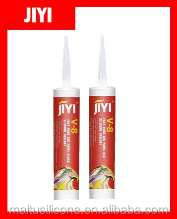 silicone adhesive gel /rtv sealant/High quality big glass panel silicone sealant/V8