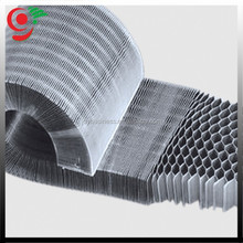 0.06mm foil thickness expanded Aluminum Honeycomb Core for Fiberglass Honeycomb Sandwich Panel