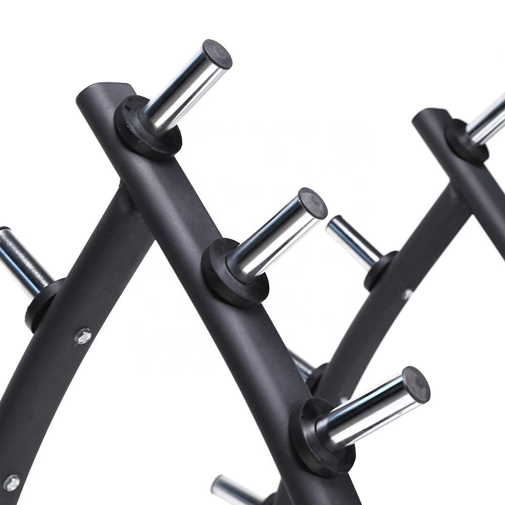Cross fitness gym equipment 10 pieces barbell rack