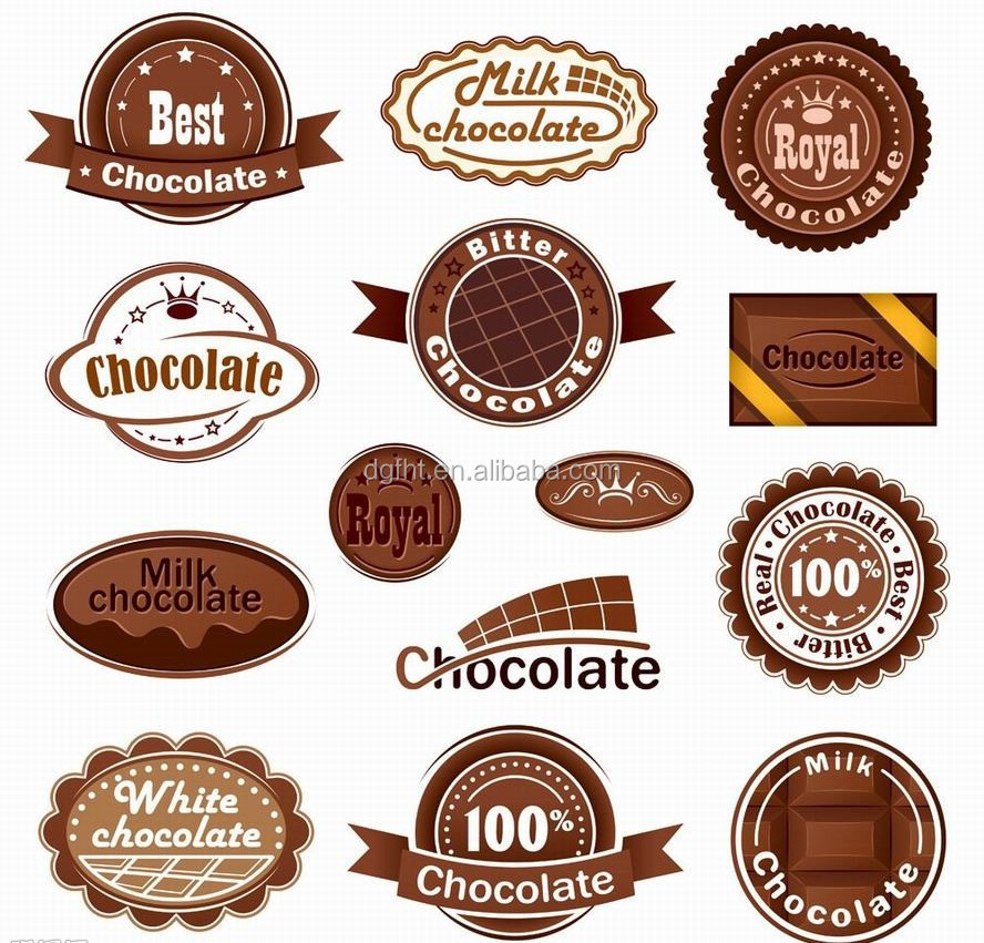 Food Sticker,Cosmetic Label,Chocolate Label - Buy Cosmetic Label