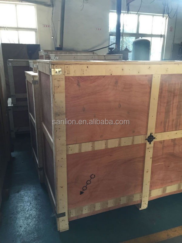 7.5KW 300L Tank Mounted Screw Air Compressor with Air Dryer