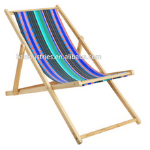 Striped fabrics for sling chair folding deck chair canvas