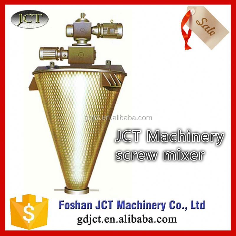 JCT stainless steel blender mixer chopper blender powder nauta mixer