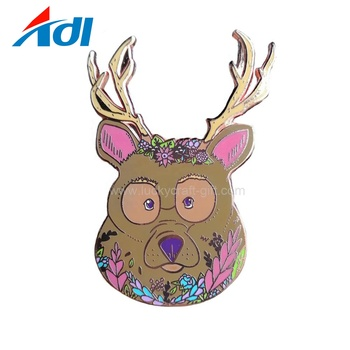 Top sale making custom cute animal gift enamel lapel pins