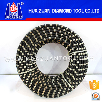 safty low-noise low cutting cost diamond wire saw for granite quarries
