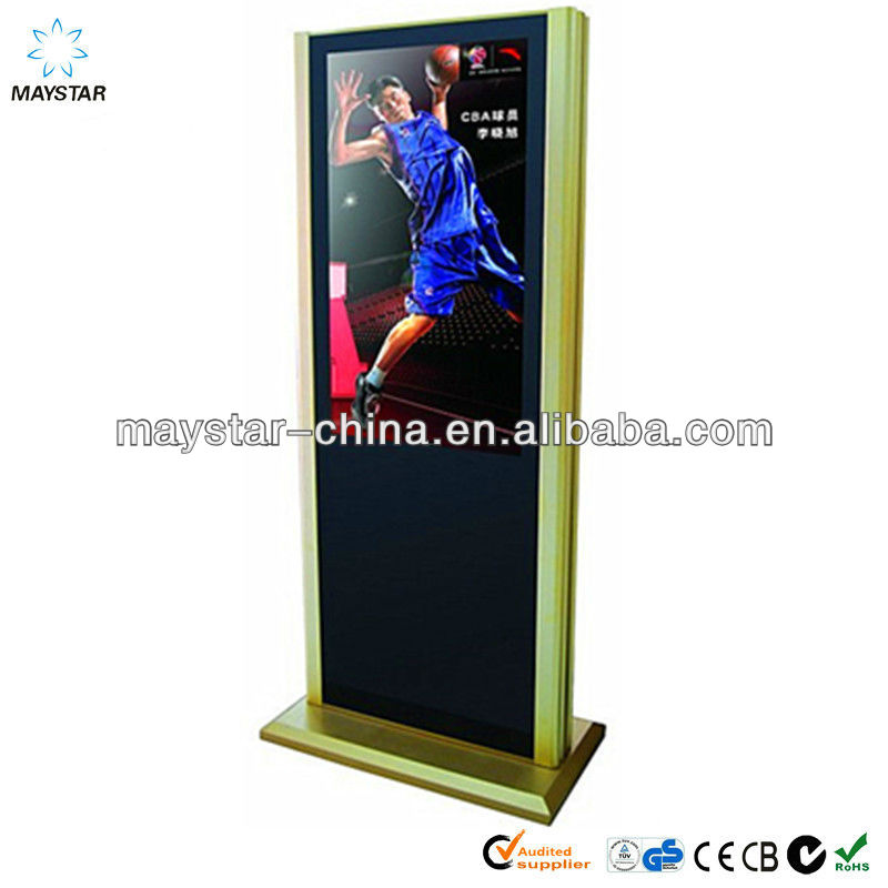 2013 best selling 42 inch 3g/wifi shopping mall advertising touch screen kiosk