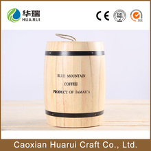 2016 factory price cheap mini used empty wooden coffee barrels