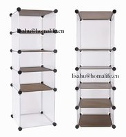 Foldable bright plastic storage under bed box for accessory