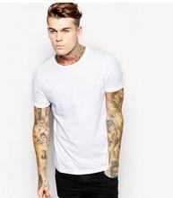 professional supplier wholesale bulk high quality 95% cotton 5% elastane men's t shirt,sport wear on alibaba