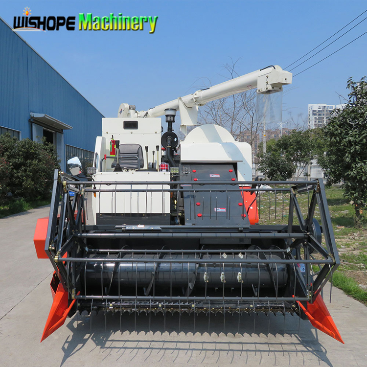 4LZ-4.5 Strong Power HST Rice Combine Harvester Prices in India