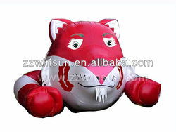 new design inflatable tiger model,inflatable products