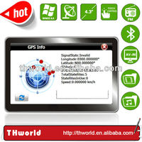 4.3 inch automobile gps model no.V12 with bluetooth AV-IN 4GB only $32.00/PC