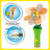 Battery 1AA 1.5V Operated Light-Up Flower Candy Fan with Flash Sunflower Toys