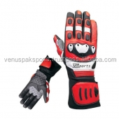 Custom MOTOR BIKE RACING GLOVES/LEATHER RACING SPORTS VENTILATED MOTORBIKE RACE MOTORCYCLE GLOVES