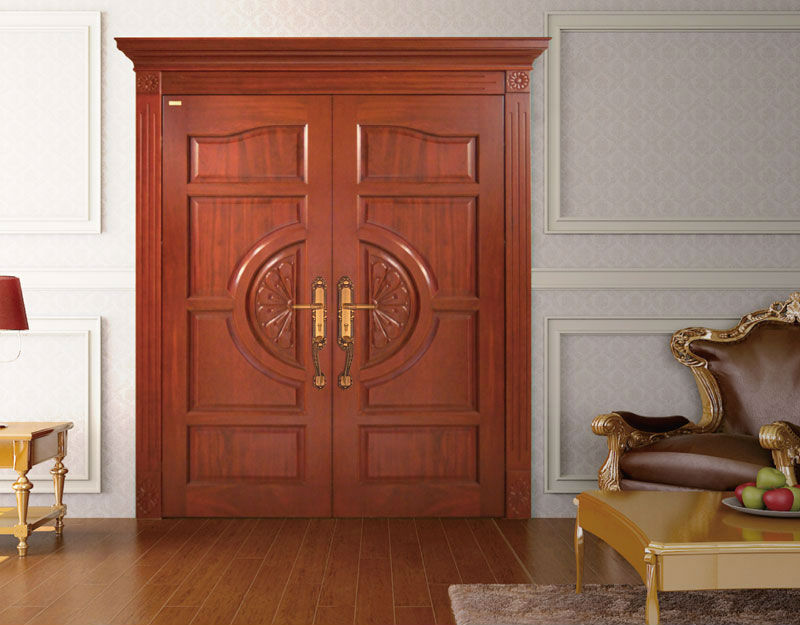 Guangzhou Double Swing Entry Interior Wood Door Solid Wooden Door Buy Wooden Door Solid Wood