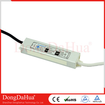 15W 12V 24V waterproof led power supply, high quality led driver from DDH