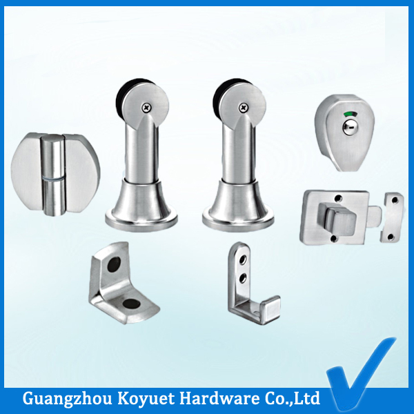 KOYUET Hot Best Manufacturer Toilet Cubicle Accessories Wood Bathroom Partitions