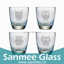Wholesale Glass Short Cup 28 ML Machine Pressed Mini Wine Glass Shot Glass Tequila
