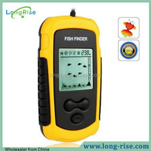 Portable Lucky Fish Finder With LCD Display, Sonar Wireless Fish Finder Digital Sea Ocean River Lake Detect Alarm