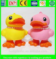 custom vinyl toy manufacturer on sale, Cartoon vinyl duck toys, DIY OEM figure for collection