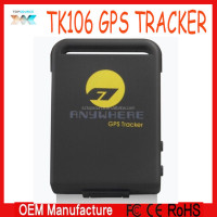 Wholesale! GPS Tracker TK106 / Locator and monitor any remote targets by SMS or GPRS / PET Tracker / Real Time