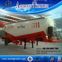 3 axles used cement trailers / bulk carrier trailer / power tank semi trailer for sale-Factory direct sale
