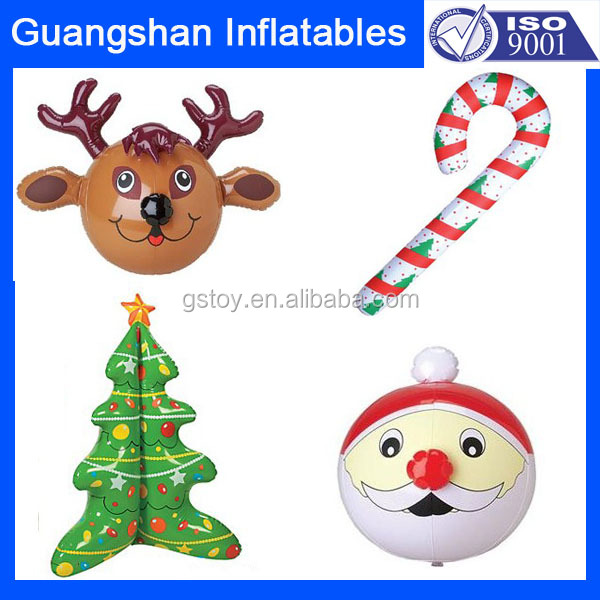 Custom promotion Christmas Decoration Inflatable toys