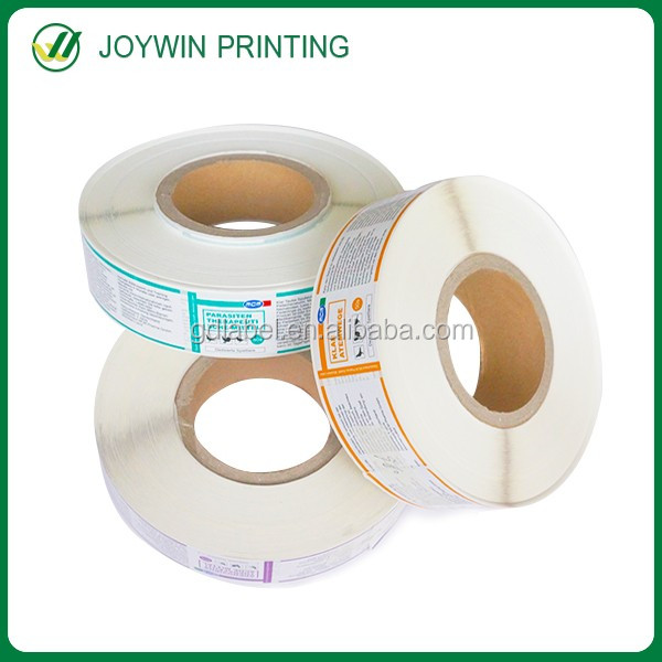 Factory standard produce qc passed sticker,adhesive sticker label