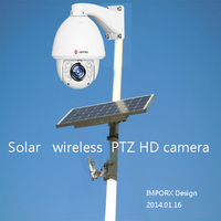 2MP 1080p Full HD Outdoor IR Night Vision PTZ IP wifi solar power Camera onvif cctv Laser IR High Speed dome with wireless 5km