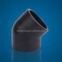 HDPE Socket Joint 45 Elbow Fitting