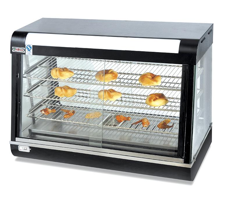Food Warmer Display Case ~ Table top food warmer display case hot
