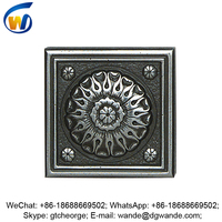 interior custom antique wall decorative metal tile inserts