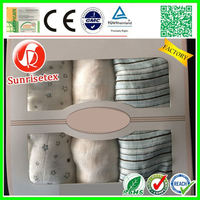 Hot sale Eco-friendly anti-bacterial baby swaddle blanket factory