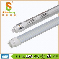 VDE UL TUV CE Listed 10w 15w 20w 25w 30w T8 LED tube light with 5 years warranty