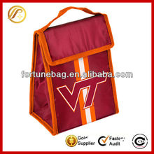 Cheap velcro closure lunch bags picnic bag cooler bag for wholesale