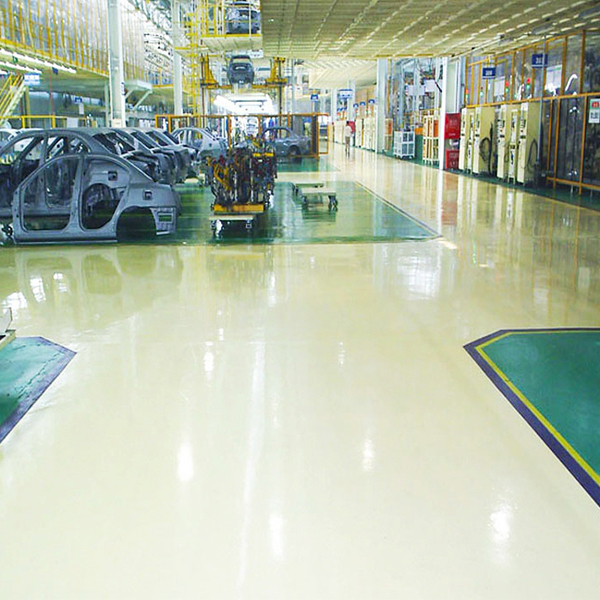 Epoxy urethane garage floor products