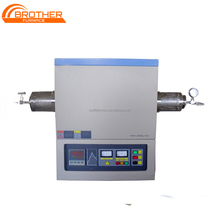 Programmable 1600C Horizontal vacuum Tube Furnace, university lab equipment,electrical resistance furnace manufacturers China