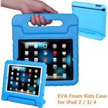 For iPad 4 Case With Handle, Shockproof EVA Tablet Kids Case for iPad 2 / 3 / 4