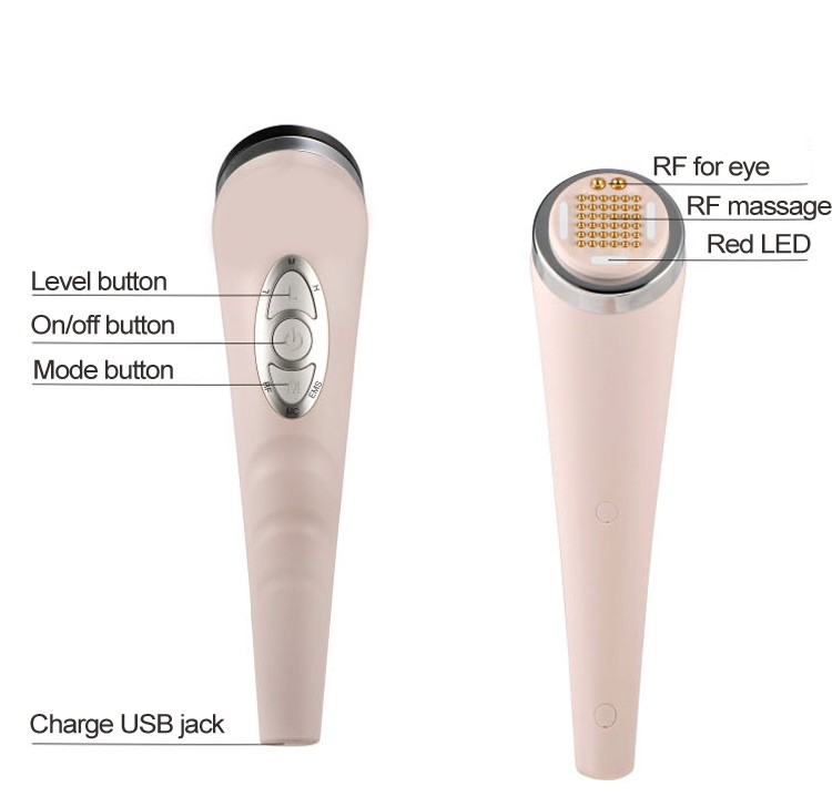 Japan Face Massager Personal Massager led micro current