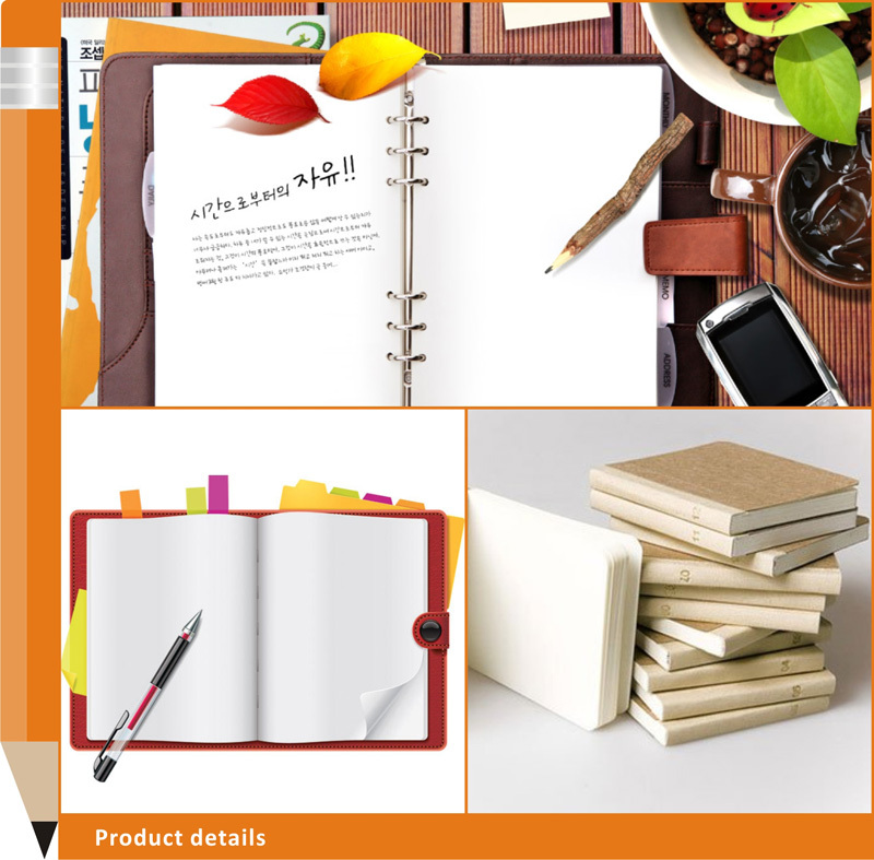 2015 Cheap School Office Supplies Recycled Paper Notebook