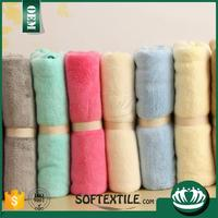 100% cotton yarn dyed company logo face towel Promotion products
