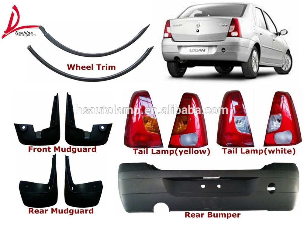 renault logan 2004 rear bumper auto body parts