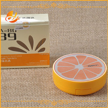 Orange Fruit fashion style creative shaped unique contact lens case