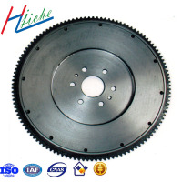 China custom cast and forged engine parts flywheel for auto and truck